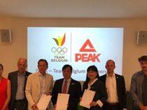 Peak Sport firma un acuerdo de cooperación con el Comité Olímpico de Bélgica